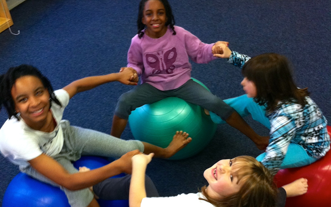 Focus & Core Strengthening Fun with the Yoga Ball!